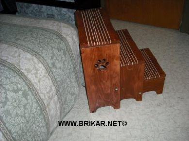 escalier pour chien lempreintes collection pour animaux 2003 2016. Black Bedroom Furniture Sets. Home Design Ideas