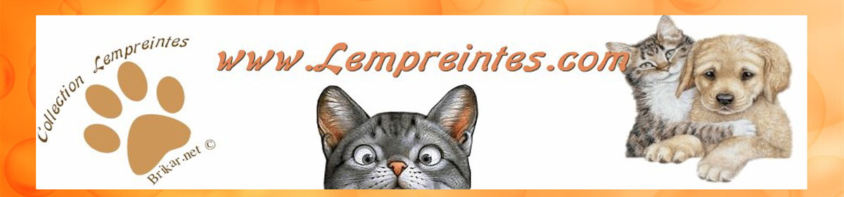 Lempreintes – Collection pour animaux ©2003-2016